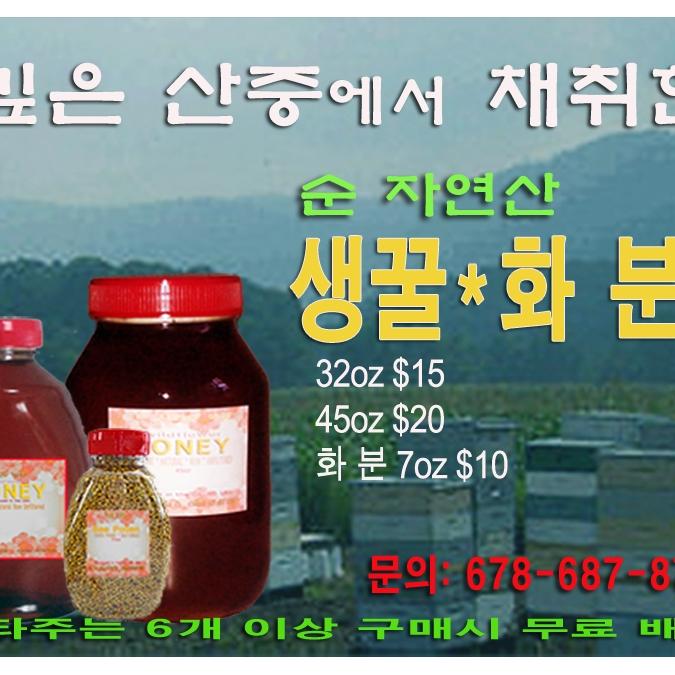 산중에서 채취한 신선한 생꿀 화분 좋은 가격에 팝니다. - 사고·팔고 - 조지아주닷컴 : Thumbnail - 675x675 커버이미지